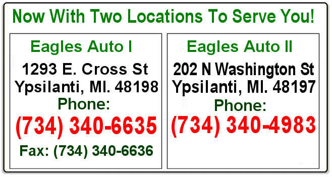 two locations serving ypsilanti